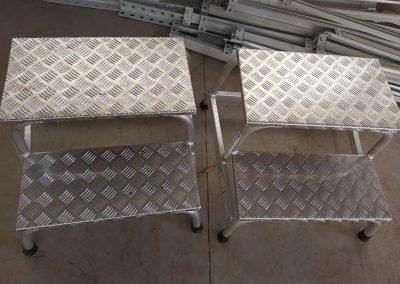 Pomost montażowy 2 stopnie Krause drabinka schodki – 300,00 zł